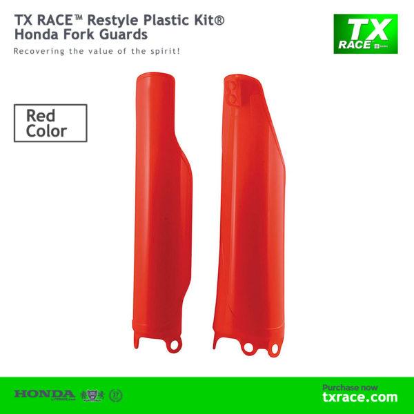 TX RACE™ Restyle Plastic Kit® Honda Fork Guards